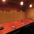 8名様までの個室を完備!女子会や合コン、会社の飲み会など、各シーンに使いやすい完全個室。