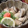 料理メニュー写真牡蠣ポン酢