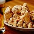 ビールによく合う料理を追求した「但馬鶏唐揚げ」