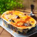 料理メニュー写真ナスとトマトのこぼれミートグラタン