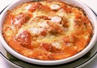 激辛トマトのチーズ焼