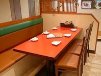 広々ゆったり出来るテーブル席♪