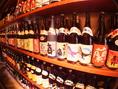 焼酎・日本酒の数も豊富に揃えています