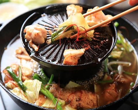 ★新発売★鶏・炙り鍋★