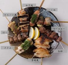 炭火串焼 白虎 胡町のおすすめ料理1