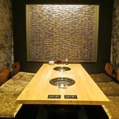 焼肉竹林 別邸の特等席★最大6名でご利用いただける掘りごたつ個室