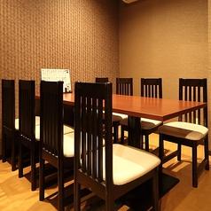 最大8名様までご利用頂ける個室となっております。
