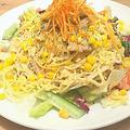 料理メニュー写真北海道風蒸し鶏ラーメンサラダ