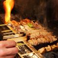 名物は日本三大地鶏の一つである比内地鶏!その中でも秋田比内町産の雌の比内地鶏は究極の評価を頂いております!味・品質・価格どれをとっても最高の【比内地鶏】を備長炭で焼く『やきとり』をぜひ!