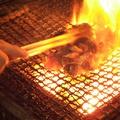 料理メニュー写真宮崎地鶏の炭火焼(天然塩・みそ豆板醤・にんにく風味)