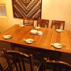 一階テーブル席☆6名様でのご利用も可能!!広目でゆったりお過ごし頂けます!!
