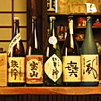 日本酒・焼酎も豊富です