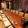 【テーブル/個室】最大24名様まで個室宴会可能!テーブル席の個室です。大人数様の飲み会におすすめのお席です☆広々店内に並ぶテーブル席は人数・用途に合わせて席・空間を変えられるので、接待・歓送迎会などいろいろなシーンでご利用頂けます♪大満足なコースをご用意しております。(錦糸町/居酒屋/完全個室/誕生日)