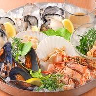 【旨味たっぷり♪牡蠣など新鮮な海の幸!】
