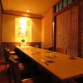 12名様用個室。詰めていただければ14名様OK!金山での宴会に最適な飲み放題付きコースは3500円~歓迎会、送別会、接待、コンパにも!
