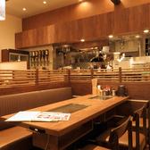 【テーブル席:6名×1】6名様様のテーブル席は、会社飲みや、女子会、親戚の集まりなどちょっとした宴会に最適です☆絶品お料理をぜひご堪能ください!
