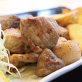 料理メニュー写真アグー豚サイコロステーキ