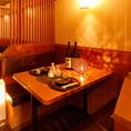 ◆ 6名様~10名様テーブル個室 ◆個室居酒屋をお探しなら是非当店へお越しください!少人数様から団体様まで幅広くご案内いたします◎当店自慢の絶品料理がご堪能いただける宴会に最適なコースも多数ご提供しております