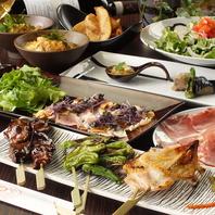 日本料理店で修業した店主がつくる料理