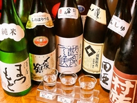 飲み比べ『利き酒』