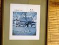 三千院門前で営業を始めて60年あまり。湯葉は寺院御用達品にもなっている。店に飾られた昔の写真が歴史を物語る。