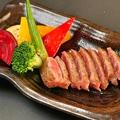 料理メニュー写真【国産牛サーロインステーキ 160g】