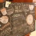 SMILE COFEE(スマイルコーヒー)にご来店頂くと、黒板メニューが皆様をお出迎え致します★