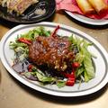 料理メニュー写真黒醋鶏排 黒酢鶏