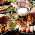 【当日OK!飲み放題単品!】毎日開催飲み放題!飲み放題だけ、当日、、、もちろんOK!日本酒をはじめ、ハイボール・ビール・カクテル・サワー・焼酎と豊富にご用意!ノンアルコールカクテル、ソフトドリンクも充実しております!
