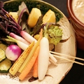 料理メニュー写真菜園バーニャカウダ(※こちらは食べ放題ではありません。)