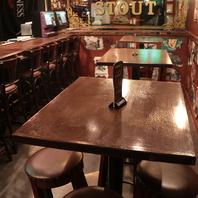 お客様の人数に合わせたお席をご用意します。