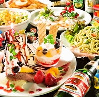 アジアンfoodのpartyメニュー