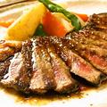 料理メニュー写真牛サーロインステーキ
