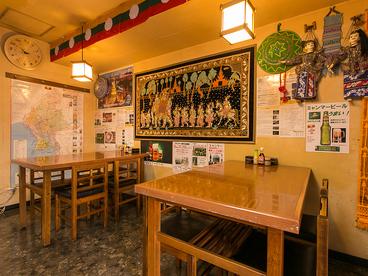 ゴールデンバガン ミャンマーアジアレストラン 曙橋四谷店の雰囲気1