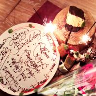 誕生日・記念日にご利用ください♪