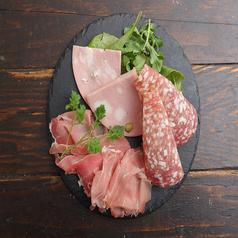 イタリア産お肉の前菜盛り合わせ