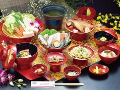 Ryukyu Modern Classic YOTSUTAKE 四つ竹のコース写真