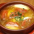 料理メニュー写真フレッシュトマトとモッツァレラのアヒージョ