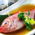 料理メニュー写真のど黒/金目鯛の煮付け