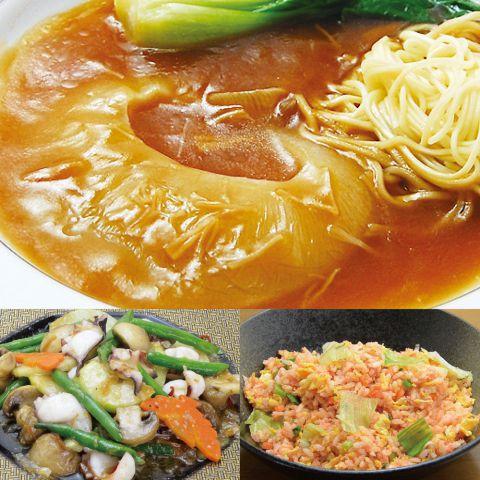 【予約制】フカヒレ姿煮と夏の豪華食材コース5000円