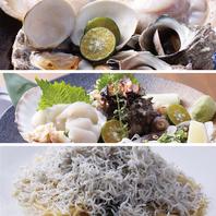 おすすめはシェフ厳選の貝をじゅわっと焼いた『浜焼き』