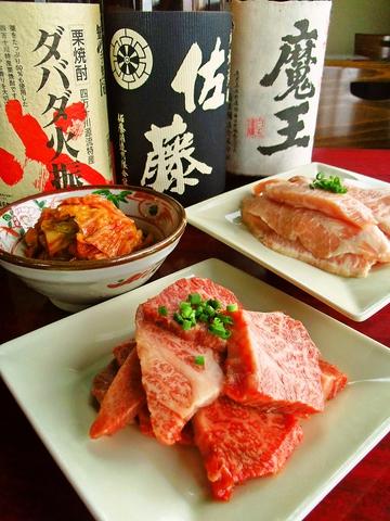 お肉一枚からキムチに至るまで、こだわりを持った商品を提供している焼肉店である。