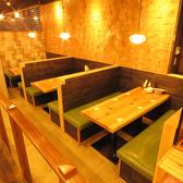 4名席×4テーブル
