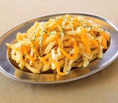 料理メニュー写真Wチーズのポテトフライ