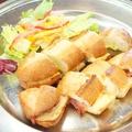 料理メニュー写真バゲットサンド(ハム&チーズ)