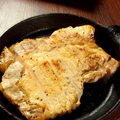 料理メニュー写真豚ロース鉄板焼き