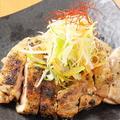 料理メニュー写真丹波地鶏の炭焼き※1枚の料金です