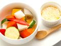 料理メニュー写真温野菜のバーニャカウダーソース添え