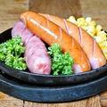 料理メニュー写真あぐー豚のソーセージ