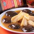 料理メニュー写真竹の子と椎茸の甘味醤油煮込み